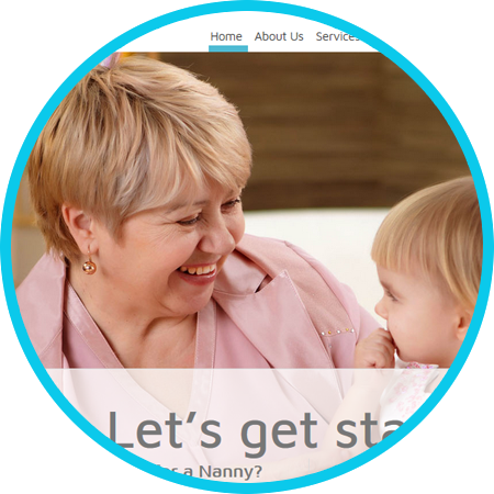 Nanny Agency Website